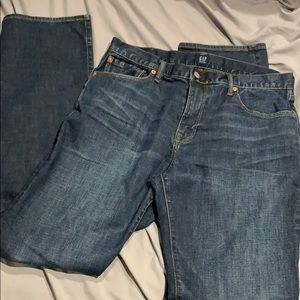 NWOT men's gap jeans 34x34 straight leg